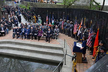 Police Officers Memorial adds 40 Fallen Officers